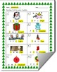 Christmas-Themed Beginning Sound Identification Worksheet