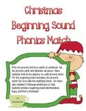 Christmas Beginning Sound Phonics Pack