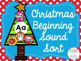 Christmas Beginning Sound Sort
