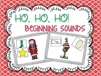 Christmas Beginning Sound Sort {freebie}