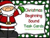 Christmas Beginning Sound Task Cards