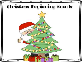 Christmas Beginning Sounds