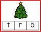 Christmas Beginning Sounds Clip Cards