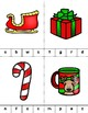 Christmas Beginning Sounds Clip Cards