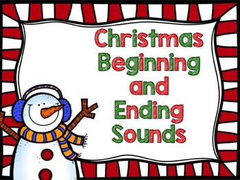 Christmas Beginning and Ending Sound Practice