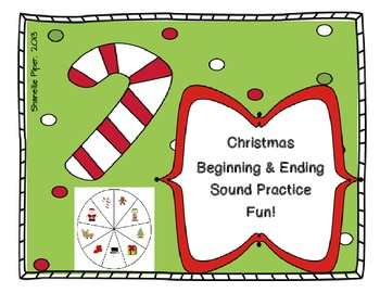 Christmas Beginning and Ending Sound Practice Fun