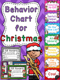 Christmas Behavior Chart
