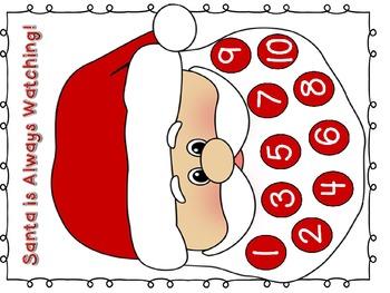 Christmas Behavior Incentive