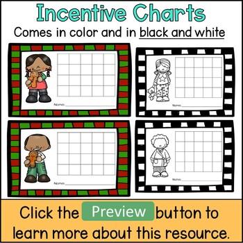 Christmas Behavior Incentive Charts