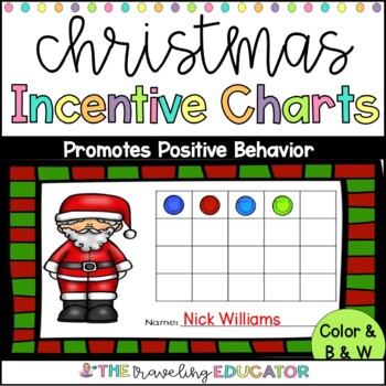 Christmas Incentive Charts
