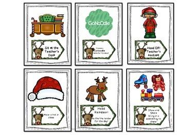 Christmas Behavior Incentives - Reindeer Rewards