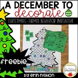 Christmas Behavior Initiative FREEBIE