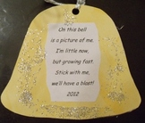 Christmas Bell with :Photo and Poem