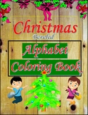 Alphabet Specialty: Christmas 'Beveled' Alphabet Coloring