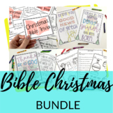 Christmas Bible Activities BUNDLE