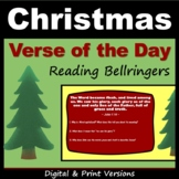 Christmas Bible Bellringers - Middle School Reading