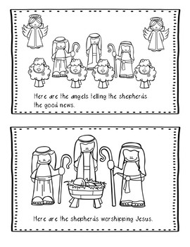 Christmas Bible Lesson Angels and Shepherds (All About Series/Preschool Kinder)