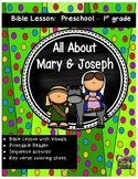 Christmas Bible Lesson Mary and Joseph (All About Series/Preschool Kinder)