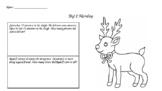 Christmas Big 2 Math Morning Work