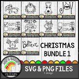 Christmas Big Bundle 1 SVG Designs