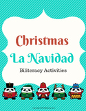 Christmas Biliteracy Activities (English & Spanish)
