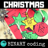 Christmas Binary Coding Unplugged
