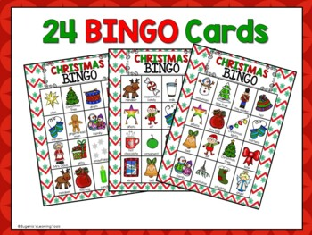 Christmas Time Bingo