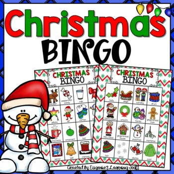 Christmas Activity - Bingo