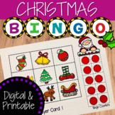Christmas Bingo Activity Game: Digital and Printable