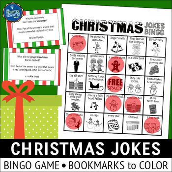 Christmas Jokes Bingo
