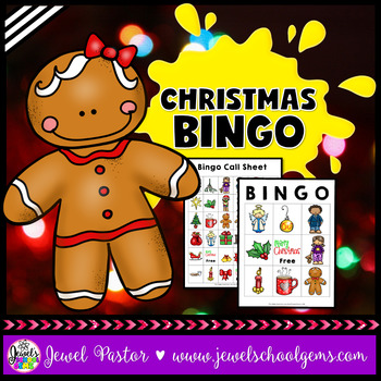 December Activities (Christmas Bingo)