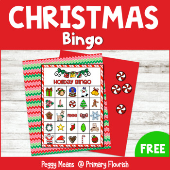 Christmas Holiday Bingo