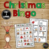 Christmas Bingo {25 Different Bingo Cards}