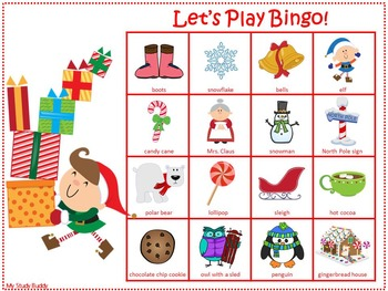 Christmas Bingo Game (Christmas Activities)