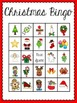 Christmas Bingo (30 different playing cards & calling cards included!)