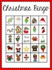 Christmas Bingo (30 different playing cards & calling card