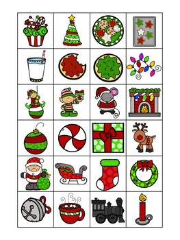 Christmas Holiday Bingo