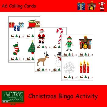Christmas Bingo Activity