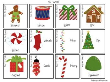 Christmas Bingo - Articulation R, S, L