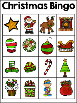 Christmas Bingo Boards