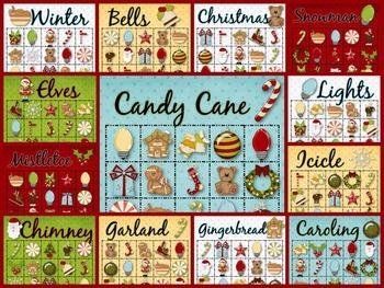 30+ Christmas Bingo Cards