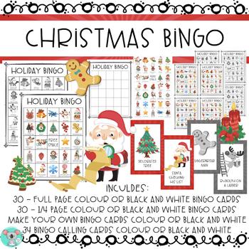 Christmas Bingo: Christmas Games And Activities