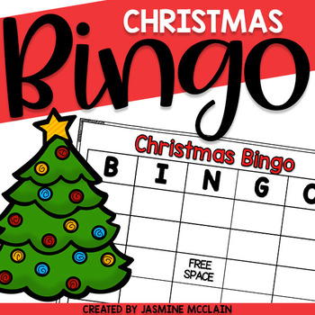 Christmas Bingo-Christmas Themed Bingo Game