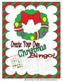 Christmas Bingo - Create Your Own!