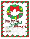 Christmas Bingo - Create Your Own!