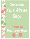 Christmas Bingo-Cut and Paste to Create Your Own Card
