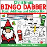 Christmas Bingo Dauber | Addition & Subtraction