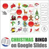 Christmas Bingo Digital