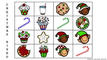 Christmas Bingo (Freebie)
