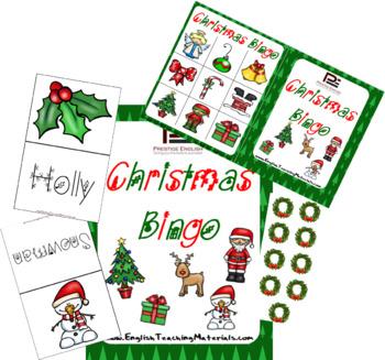 Christmas Bingo | Fun Classroom Game